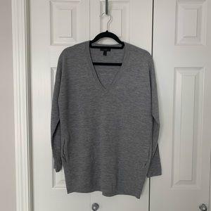 J Crew Oversized V-Neck Sweater